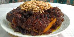 المروزية المغربية معسلة و معلكة مع أسرار نجاحها أطباق عيد الأضحى