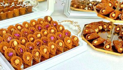 جديد !!! أكثر من 180 حبة بدون بيض أروع بليغة معسلة بشكلين مختلفين /  الشباكية معسلات رمضان 2021